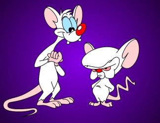 Pinky and The Brain by saxguygb