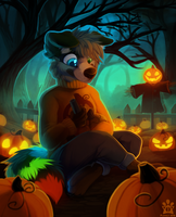Pumpkin army by Flemaly