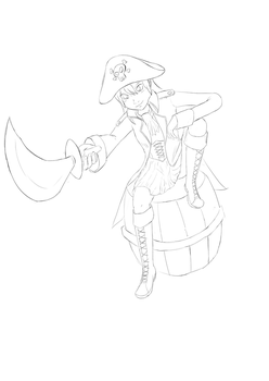 Missy Pirate by wishes0007