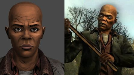 Sam Jackson - The Walking Dead (XPS) by AKandrov