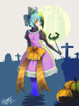 Happy hollow ween 2014 by LadyOddly