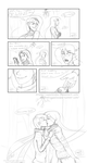 Mistletoe Comic (sketch) by Ruepelwelpe