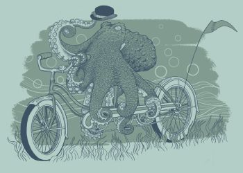 Octobike by jillustration