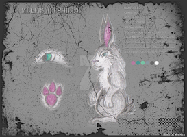 Melfis  ref-sheet by Wol4ica