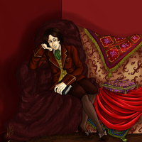 Oscar Wilde by Lord-Giovanni