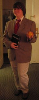 Costume: Light Yagami by ravenclaw42