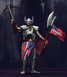 Freedom Cleric by SergIole