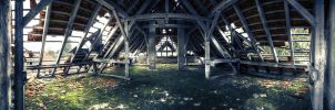 Lakeside Sanatorium Attic by Diesel74656