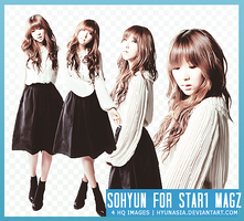 [PNG Pack] Sohyun for STAR1 by hyunasia