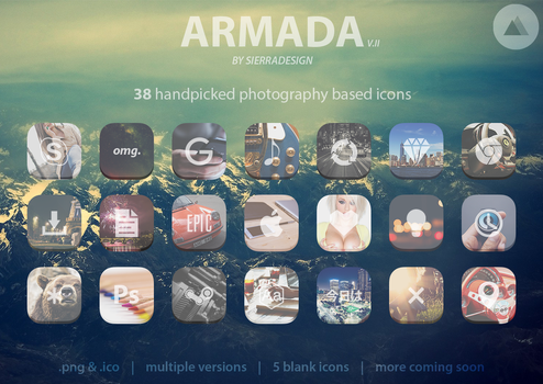 Armada Icon Pack by SierraDesign