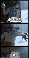 Dragon Age Comic - Snowbull by YukiSamui