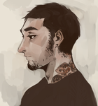 The Man with the Tattoo by R0BUTT