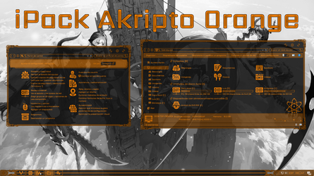 iPack Akripto Orange by Agelyk