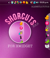 ShorcutsBar Alenet21 for xwidget by alenet21tutos