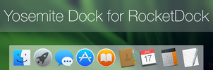 Yosemite Dock for RocketDock by link6155