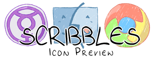 Scribbles: Icon Preview by fighterkirby1998