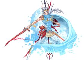 Firion Third Costume in EX-Mode by Nick-Ian