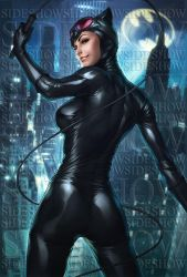 Catwoman Sideshow Art by Artgerm