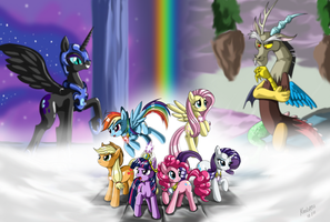 MLP : Equestria's saviors by Kroliath