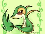 Snivy by Shad-the-cat