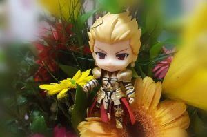 GoldKing Gilgamesh with BeautyfulFlowers [P4] by ng9