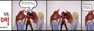 Willow and Tara vs Purgatori 0 by WebWarlock