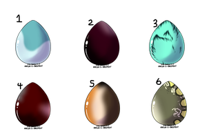 Mystery egg adopts (Open) 1/6 by SoulsofTheDoomed