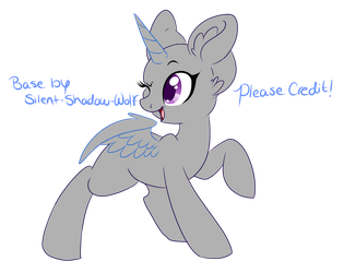 Free to Use Base #1 by Silent-Shadow-Wolf