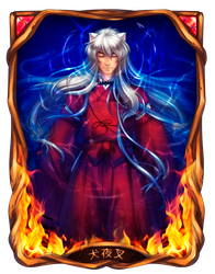 IY: Part I - Flamy soul - Inuyasha by Kay-I