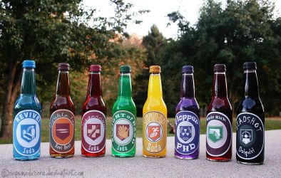 Perk-A-Colas from Nazi Zombies by soPWNEDXcore