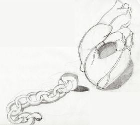 heart chain by SketchFiles
