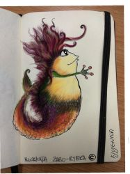 Hairy Frogfish  by Silver-M-Studio