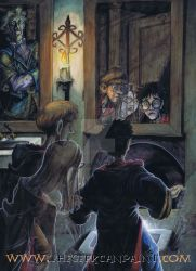 Harry Potter: Book 2 Chapter 16 Painting by TheGeekCanPaint