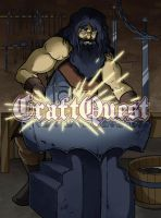 CraftQuest 3 - Blacksmith by scazrelet