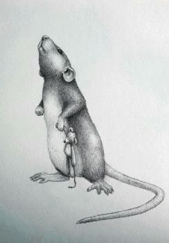 Little rat by Zaza-Art