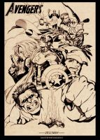 The Avengers-Avenger Assemble by Athew