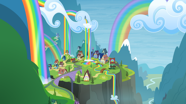 Rainbow Falls View by Dipi11