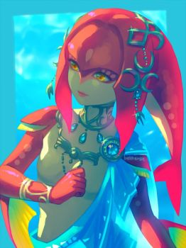 Mipha by bellhenge
