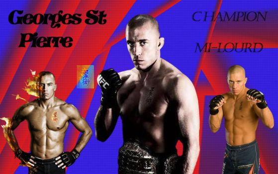 Georges st Pierre by ducky86
