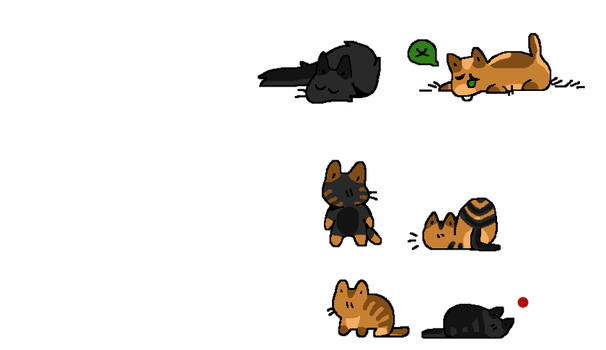 Free cat adopts! (CLOSED) by Telap
