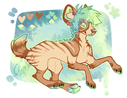 Tropical Stripped yeen OTA ! //CLOOSED by Squirrelings