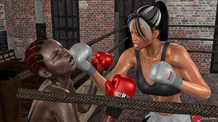 Neggy vs. Mercedes Carter by alesiaboxing by MasterSaruwatari