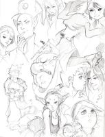 Sketchpage: Breath of Fire 4 by The-Z