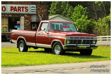 A Nice Ford Pickup by TheMan268