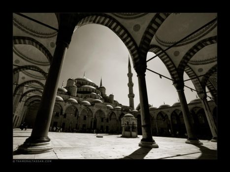 Sultan Ahmed Mosque by tyt2000
