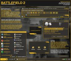 Battlefield 2 WindowBlinds by Josephs