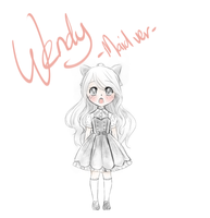 WENDY maid ver by Tried-drawing
