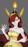 Hekapoo of Star vs the Forces of Evil by blackrabbitartworks