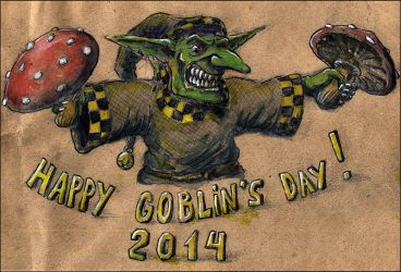 Happy Goblins Day! by AKB8