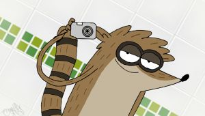 Rigby pal facebook! by ShinodaGE